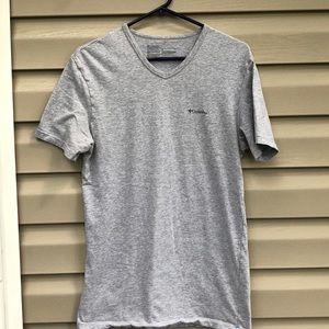Columbia men's gray short sleeve tee shirt